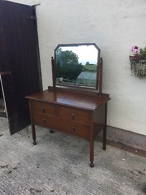 Vintage Wearing And Gillow Wooden Dressing Table