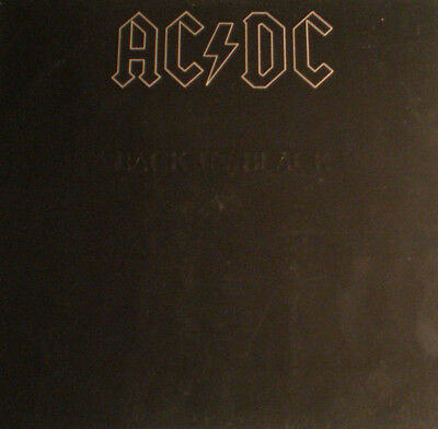 Ac/dc - Back In Black - De 80 - Nm