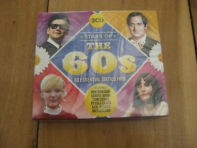 Stars of the 60s - Various Artists (Box Set) [CD] - BRAND NEW SEALED