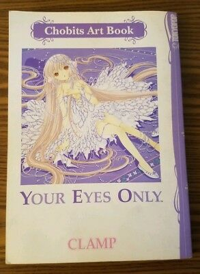 Chobits Art Book: For Your Eyes Only (Clamp, 2003) Anime Art Book! Tokyo Pop!