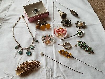 Beautiful Collection Of Antique And Vintage Jewellery house clearance Joblot