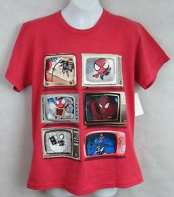 ** THOR Marvel FEEL THE THUNDER Red Boy/'s T Shirt Size 4//5 Officially Licensed