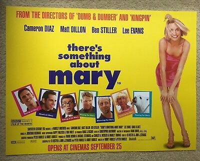 There's Something About Mary Cinema Small Quad Poster (1998)