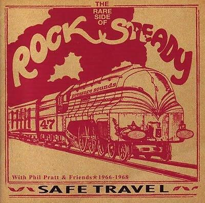 V.A.* Safe Travel - The Rare Side Of Rocksteady  2-LP neu*new *Phil Pratt*
