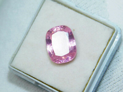 Kunzite natural 12.20Cts oval Cut Translucent Pink Untreated Loose Gemstone 4055
