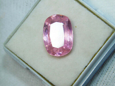 Kunzite natural 10.45Cts oval Cut Translucent Pink Untreated Loose Gemstone 4057