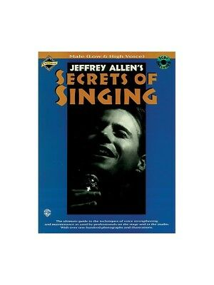 Secrets Of Singing: Male Low And High Voice Low Voice Vocals MUSIC BOOK & CD