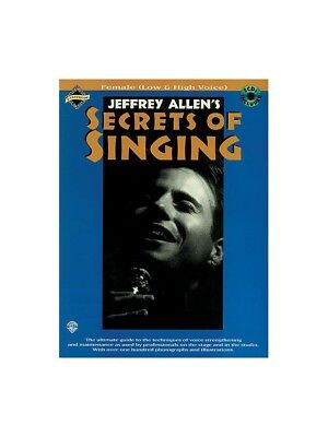 Secrets Of Singing: Female Low And High Voice Vocal Tutor Voice MUSIC BOOK & CD