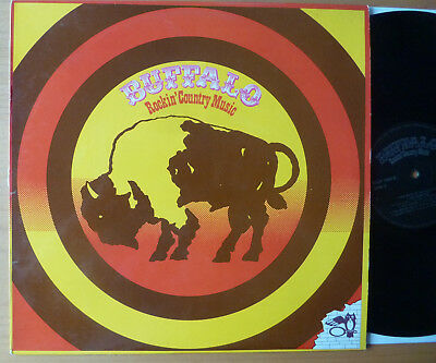 "LP BUFFALO "" Rockin´ Country Music "" deutsche Pressung"