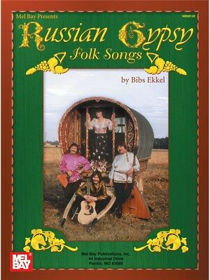 Russian Gypsy Folk Songs Learn to Play Mixed Songbook Voice SHEET MUSIC BOOK