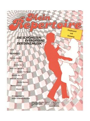 Mein Repertoire Band 4: Mambo Voice Vocals Choral Present Gift SHEET MUSIC BOOK