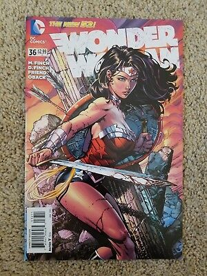 WONDER WOMAN #36 DC New 52 David Finch Art 2015