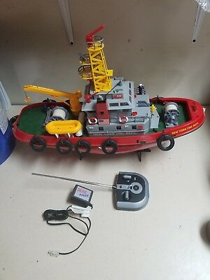 Dickie RC Losch Deployment Boat * New York Fire Dept Boat * German * Very Cool