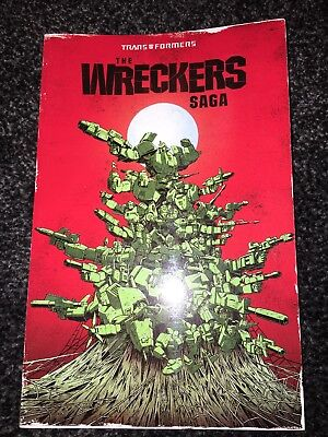 IDW Transformers - The Wreckers Saga - Paperback - MINT & NEW