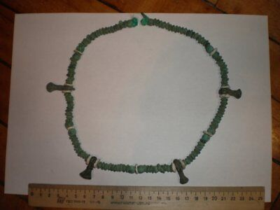 Bronze age. Ancient beads  100% original Metal detector finds N5