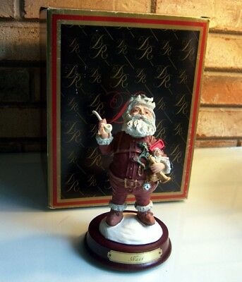 Duncan Royale Nast Santa Figure, with original box