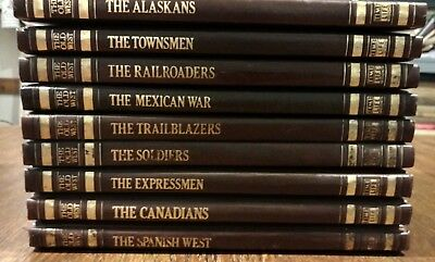 Time Life Books The Old West 9 Volume Western History Set