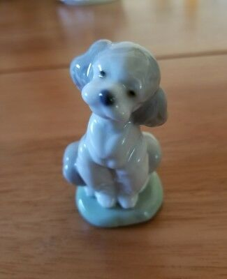 """Lladro 7685 """" A Friend for Life"""" Collectors Society 2000 Poodle Puppy Dog"""