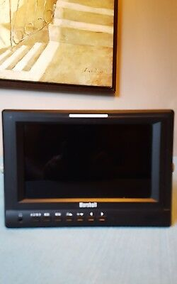 Marshall V-LCD70XP-HDMI 7 Inch Monitor with Extras ser # 2450995