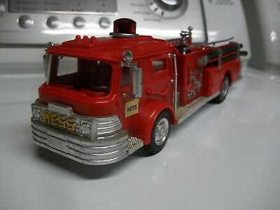 1970 HESS Fire Trucks Toy by Marx for parts or restoration