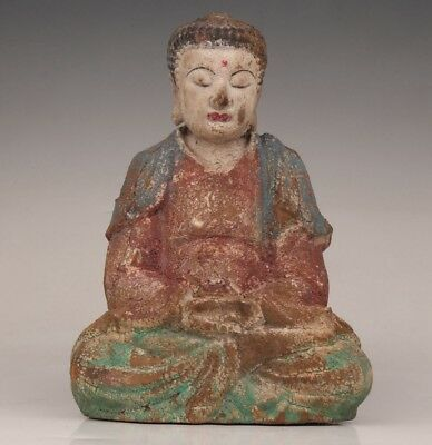 Old Temple Collection Dedicated Spiritual Decoration Buddha Guanyin Sta