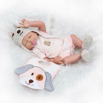 "20"" 50cm Baby Reborn Dolls Girl Newborn Size Realistic Toddler Reborn Doll Twins"