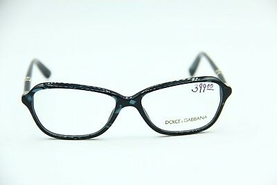 574dd58b12a NEW Dolce Gabbana DG 3145 2684 DARK BLUE EYEGLASSES AUTHENTIC FRAME DG3145  55-15
