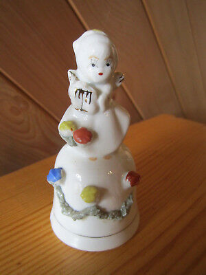 Vintage China Bell Angel Great For Collectors  Must See  ************