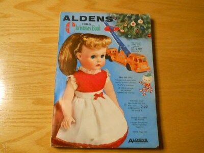 1958 ALDENS CHRISTMAS Book CatalogGood condition for age. Free Shipping!