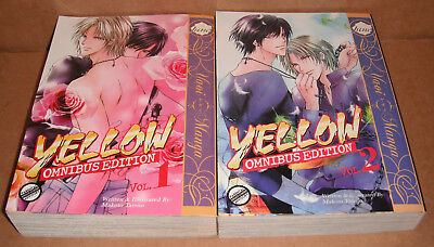 Yellow: Omnibus Edition Volume 1 and 2 Yaoi Manga English
