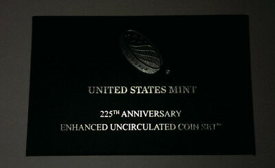 2017 US Mint 225th Anniversary Enhanced Unc Set
