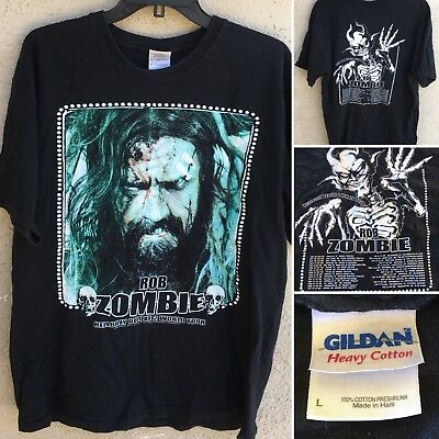 ad3234486aa18 ROB ZOMBIE VINTAGE T-Shirt CONCERT 1998 Hellbilly Deluxe Sz 2XL Tour ...