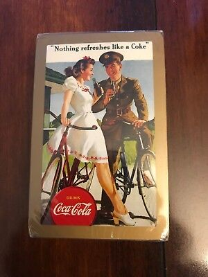 Vintage Coca-Cola Congress Playing Cards - Sealed/unopened - Awesome!