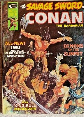 * SAVAGE Sword of CONAN 3 (NM 9.0) Mike Kaluta cover ORIGINAL OWNER Collection *