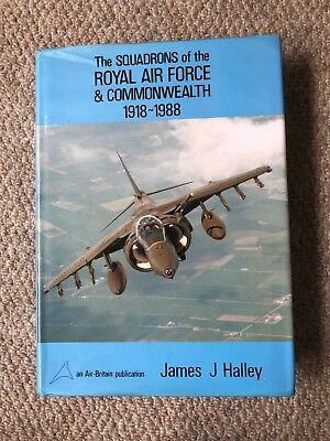 Air-Britain - The Squadrons of the Royal Air Force & Commonwealth 1918-1988