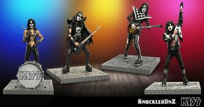 KISS Gene Simmons Paul Stanley Ace Frehley Peter Criss HOTTER THAN HELL Statue