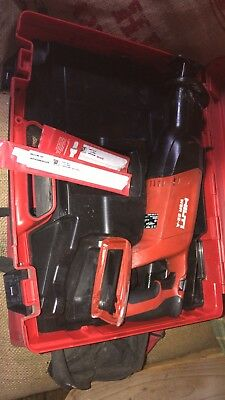 Hilti WSR22-A 22V Cordless Reciprocating Saw Body fully working great condition