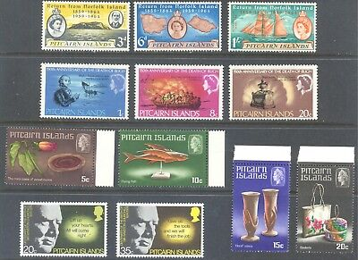 PITCAIRN ISLANDS 1961/83 Mint Selection (29)