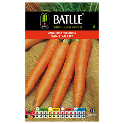 Batlle vegetable seeds - Saint Valery Carrot (10g)