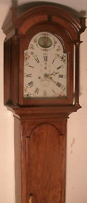 "Antique Mahogany ""  Jersey "" Automation  Dial Longcase / Grandfather Clock"