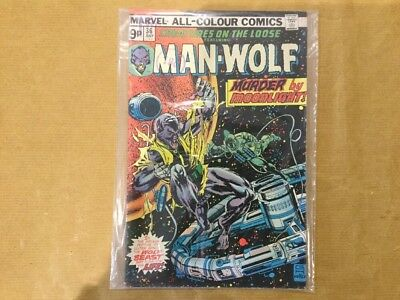 Marvel Creatures On The Loose Featuring Man-Wolf #36