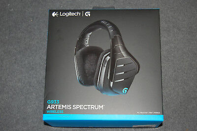 Logitech G933 Artemis Spectrum RGB Makrotasten 7.1 Surround Wireless Headset