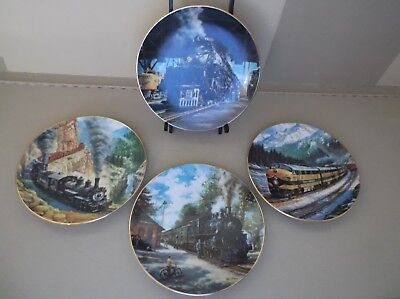 4-1991 The Golden Age Of American Railroad Collector Plates By Ted Xaras