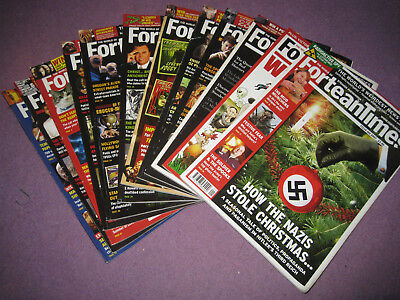 Fortean Times 12 Magazines for Year 2007 11 months and 1 special