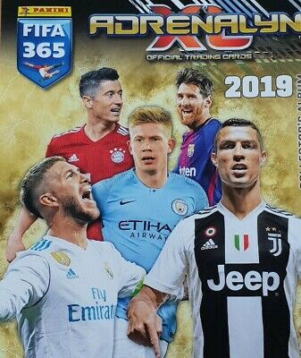 Panini FIFA 365 Adrenalyn XL 2019 Power Up Key Player Defensive Rock Game Change