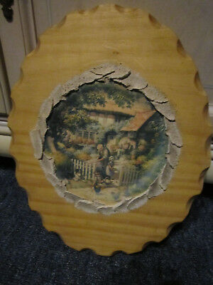 Tasmanian Pine Cottage Scene  Wall Picture Ready To Hang ***must See***