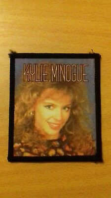 Vintage Kylie Minogue Sew on Badge Patch