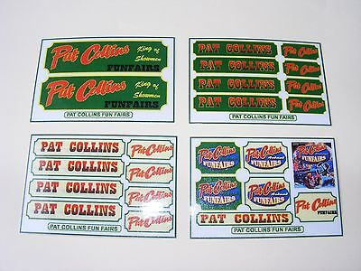 Pat Collins Fun Fair Stickers – 4 Mini Sheets