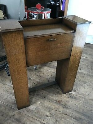 Lovely Art Deco Bureau Bookcase