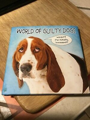 Basset Hound / Dog Book World Of Guilty Dogs Funny Gift!